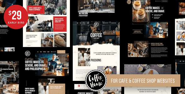 Craft | Coffee Shop Cafe Restaurant WordPress Preview