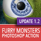 Furry Monster Actions - 300 DPI - GraphicRiver Item for Sale