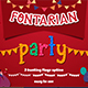 Fontarian Party - GraphicRiver Item for Sale