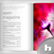Open Magazine, 3 Styles: Bright, Dark, Sepia - GraphicRiver Item for Sale
