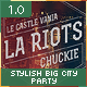Stylish BigCity Party Flyer Template - GraphicRiver Item for Sale