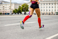 legs girl runner in compression socks - PhotoDune Item for Sale
