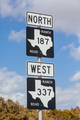 Texas Highway Sign in USA - PhotoDune Item for Sale