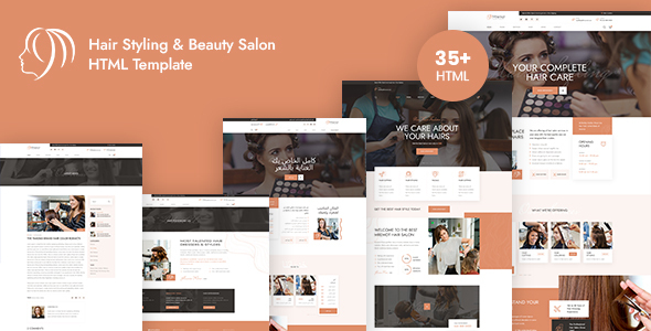 Mremot - Hair Salon & Barber Shops HTML Template