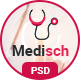 Medisch health care appointment PSD template - ThemeForest Item for Sale