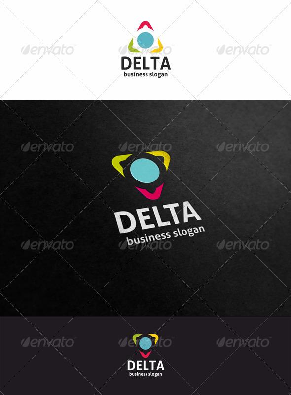 Delta Logo Template