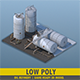 Oil Refinery - 3DOcean Item for Sale