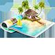 Cheerful Mood On Hot Islands