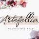 Artefellia - Handwritten Font - GraphicRiver Item for Sale