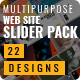 Multipurpose Web Site Slider Pack - GraphicRiver Item for Sale