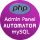 Automatic Responsive Admin Panel Generator + Permission Management from MySQL Database - CodeCanyon Item for Sale