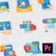 Digital Marketing Modern Flat Animated Icons - Mogrt - VideoHive Item for Sale
