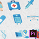 36 Medical Animated Icons - Mogrt - VideoHive Item for Sale