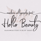 Hello Beauty - Handwritten Font - GraphicRiver Item for Sale