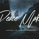 Peace Maker - Handletter Font - GraphicRiver Item for Sale