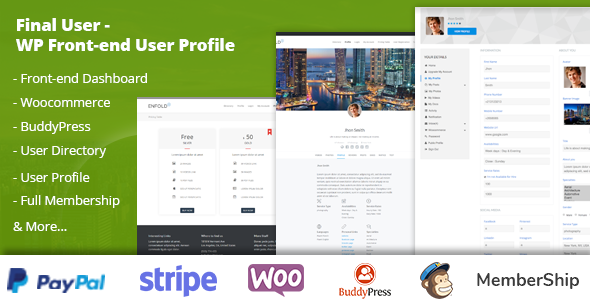 Final User - WP Front-end User Profiles