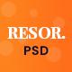 Resor - Restaurant Service PSD Theme - ThemeForest Item for Sale
