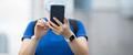Woman using smart phone on city - PhotoDune Item for Sale