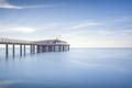 Pier or jetty, beach and sea. Lido di Camaiore, Versilia Tuscany Italy - PhotoDune Item for Sale