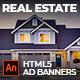 Real Estate Multi-Purpose AD BANNER   Adobe Animate CC - CodeCanyon Item for Sale