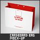 Large Cardboard Shopping Bag Mock-Up - GraphicRiver Item for Sale