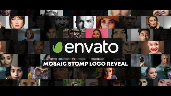 Mosaic Stomp Photo Logo Reveal