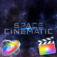Space Cinematic Titles - Apple Motion - VideoHive Item for Sale