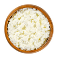 Cottage cheese, curds and whey in a wooden bowl - PhotoDune Item for Sale