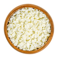 Cottage cheese curd grains in a wooden bowl - PhotoDune Item for Sale