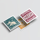 Postage stamps mock up. - GraphicRiver Item for Sale