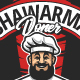 Shawarma Doner Vector Emblem - GraphicRiver Item for Sale