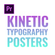 Kinetic Typography Posters - VideoHive Item for Sale