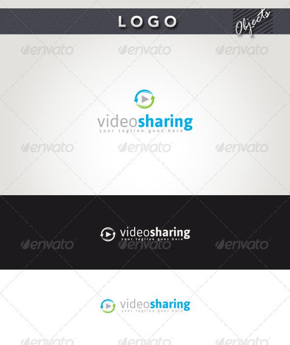 Video Sharing Logo