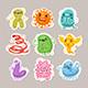 Viruses Cartoon Illustrations Set - GraphicRiver Item for Sale