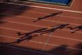 girl runner stand on starting line - PhotoDune Item for Sale