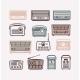 Retro Radio Vector Icons - GraphicRiver Item for Sale