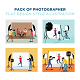 Pack of Photographer Flat Design Style - GraphicRiver Item for Sale