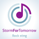 Storm For Tomorrow Rock Logo