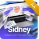 Sidney Company Profile Potrait Presentation Template Fully Animated - GraphicRiver Item for Sale