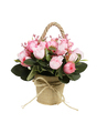 Decorative Potted Plastic Flowers - PhotoDune Item for Sale