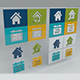 Real Estate Icon set - 3DOcean Item for Sale