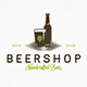 Beer Shop Vector Logo Template - GraphicRiver Item for Sale