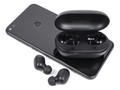 Wireless headphone with case and smartphone - PhotoDune Item for Sale