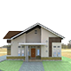 This is 3D home design, four side of the face - 3DOcean Item for Sale