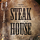Bar Menu Template Steak House - GraphicRiver Item for Sale