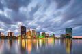 Toledo, Ohio, USA downtown skyline on the Maumee River - PhotoDune Item for Sale