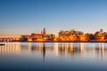 Columbus, Georgia, USA downtown skyline on the Chattahoochee River - PhotoDune Item for Sale