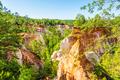 Providence Canyon in Georgia, USA. - PhotoDune Item for Sale