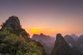 Karst mountain landscape on the Li River in Xingping, Guangxi Province, China. - PhotoDune Item for Sale