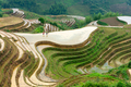Yaoshan Mountain, Guilin, China hillside rice terraces - PhotoDune Item for Sale